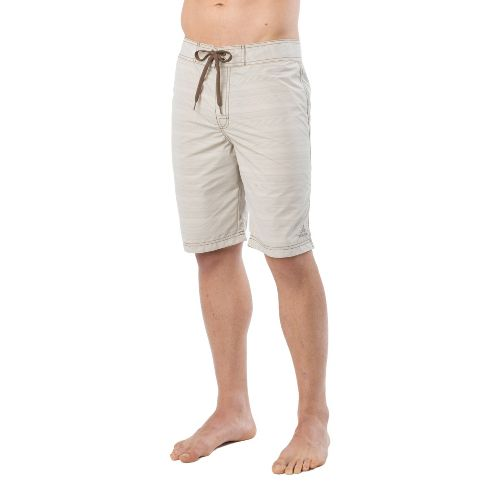 Mens Prana El Porto Unlined Shorts - Pebble 28