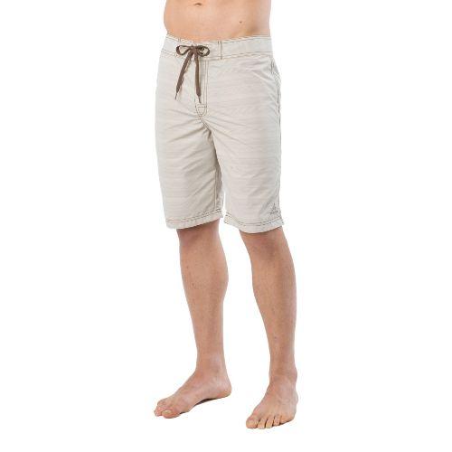 Mens Prana El Porto Unlined Shorts - Pebble 36