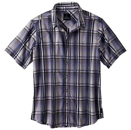 Mens Prana Duke Short Sleeve Non-Technical Tops