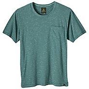 Mens Prana Cooper Crew Short Sleeve Non-Technical Tops