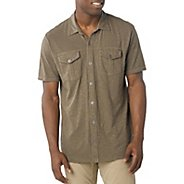 Mens Prana Hayes Button Down Short Sleeve Non-Technical Tops
