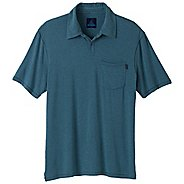 Mens Prana Crosshatch Short Sleeve Technical Tops
