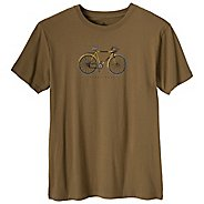 Mens Prana Ride Tee Short Sleeve Non-Technical Tops