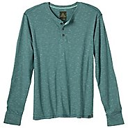 Mens Prana JT Henley Long Sleeve Non-Technical Tops