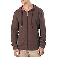 Mens Prana Frontier Warm-Up Hooded Jackets