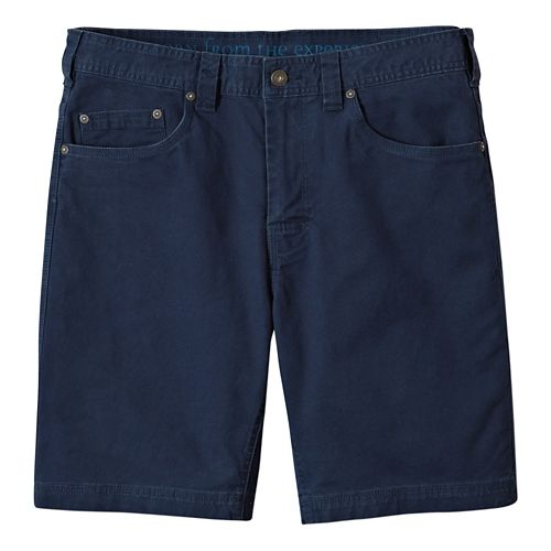 Mens prAna Bronson Unlined Shorts - Nautical 36