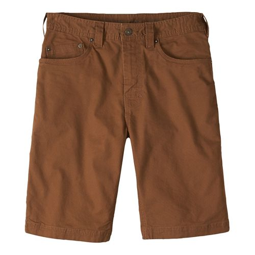 Mens prAna Bronson Unlined Shorts - Sepia 38