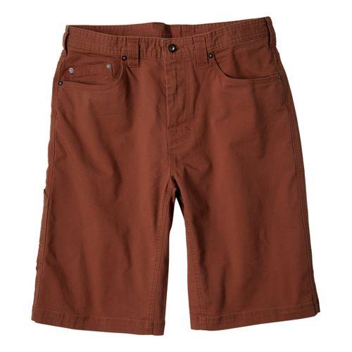 Mens Prana Bronson Unlined Shorts - Auburn 28