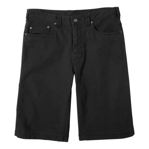 Mens Prana Bronson Unlined Shorts - Black 33