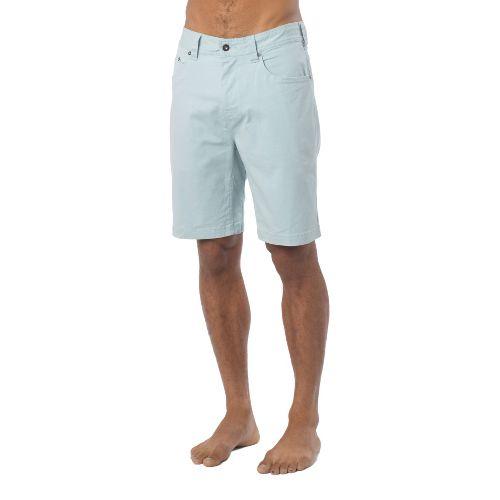 Mens Prana Bronson Unlined Shorts - Pewter 30