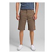 Mens prAna Furrow Unlined Shorts - Mud 30