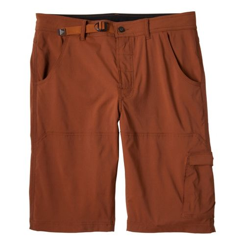 Mens Prana Stretch Zion Unlined Shorts - Auburn XXL