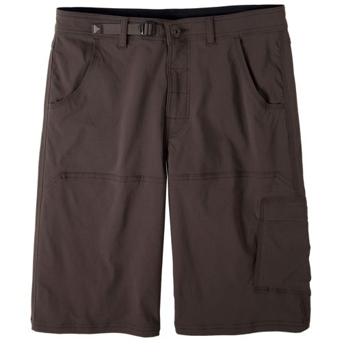 Mens Prana Stretch Zion Unlined Shorts - Brown XL