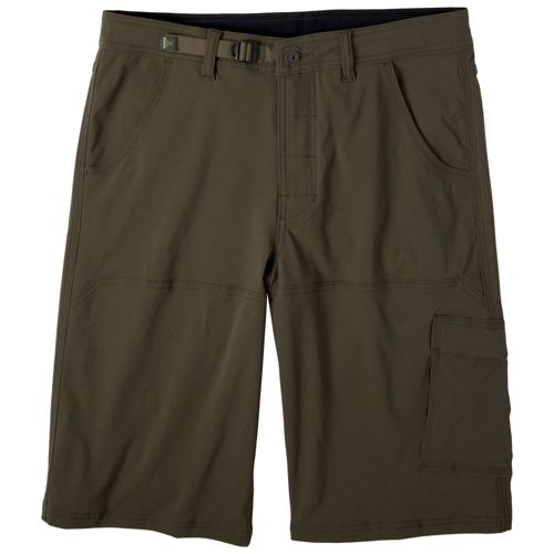 Mens Prana Stretch Zion Unlined Shorts - Cargo Green XXL