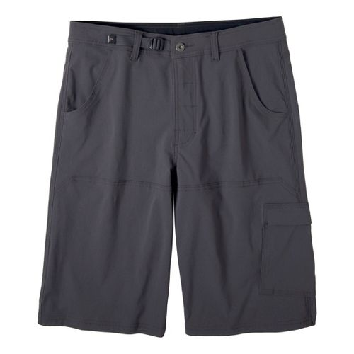 Mens Prana Stretch Zion Unlined Shorts - Charcoal S