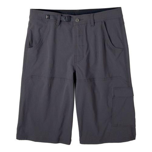 Mens Prana Stretch Zion Unlined Shorts - Charcoal XXL