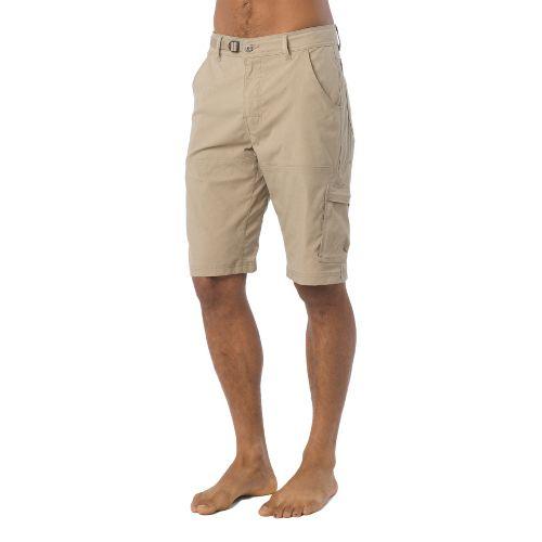 Mens Prana Stretch Zion Unlined Shorts - Dark Khaki XL