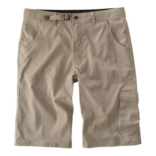 Mens Prana Stretch Zion Unlined Shorts - Khaki XL