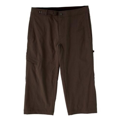 Mens Prana Nemesis Knicker Unlined Shorts - Brown XL