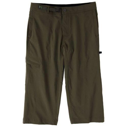 Mens Prana Nemesis Knicker Unlined Shorts - Cargo Green L