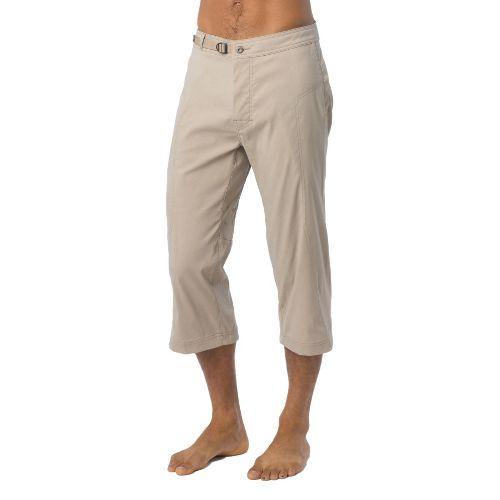 Mens Prana Nemesis Knicker Unlined Shorts - Dark Khaki XL