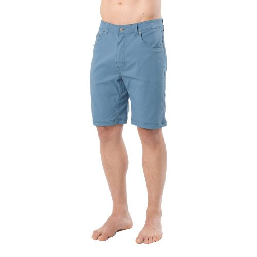 Mens Prana Brion Unlined Shorts - Blue Jean 38