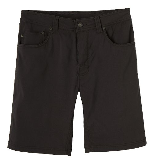 Mens prAna Brion Unlined Shorts - Charcoal 38