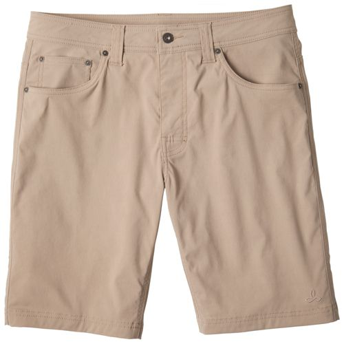 Mens Prana Brion Unlined Shorts - Khaki 33