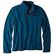 Mens Prana Bryce 1/4 Zip Long Sleeve Technical Tops