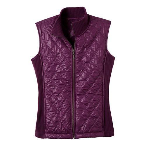 Womens Prana Diva Outerwear Vests - Grapevine M