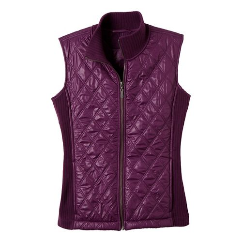 Womens Prana Diva Outerwear Vests - Grapevine XL