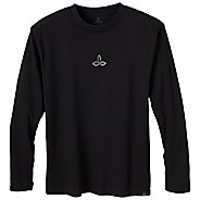 Mens Prana Dri Balance Long Sleeve No Zip Technical Tops