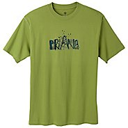 Mens Prana Dri Balance Blank Short Sleeve Technical Tops