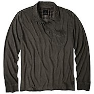 Mens Prana Excursion Polo Long Sleeve Non-Technical Tops