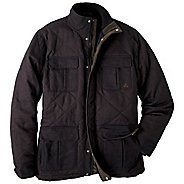 Mens Prana Getaway Coat Warm-Up Unhooded Jackets