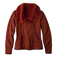 Womens Prana Grace Warm-Up Unhooded Jackets