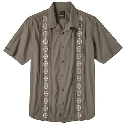 Mens Prana Havana Short Sleeve Non-Technical Tops