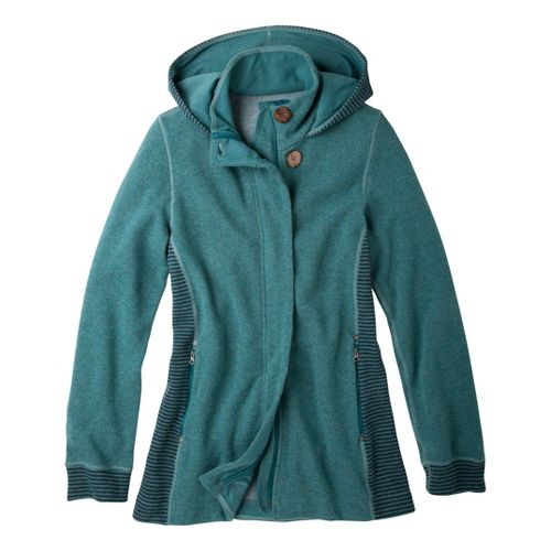 Womens Prana Kari Running Jackets - Deep Sea L