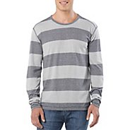 Mens Prana Keller Crew Long Sleeve No Zip Technical Tops