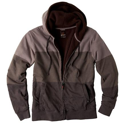 Mens Prana Lineage Hoody Warm-Up Hooded Jackets