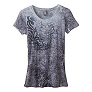 Womens Prana Lotus Top Short Sleeve Technical Tops
