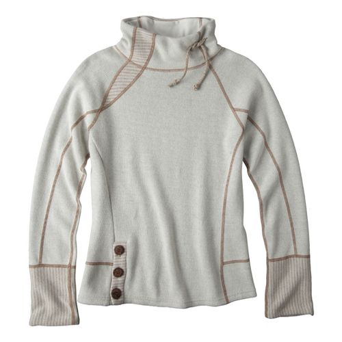 Womens Prana Lucia Sweater Long Sleeve No Zip Technical Tops - Winter M