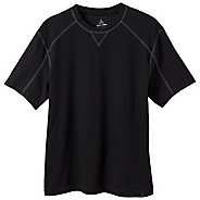 Mens Prana Neo Crew Short Sleeve Technical Tops