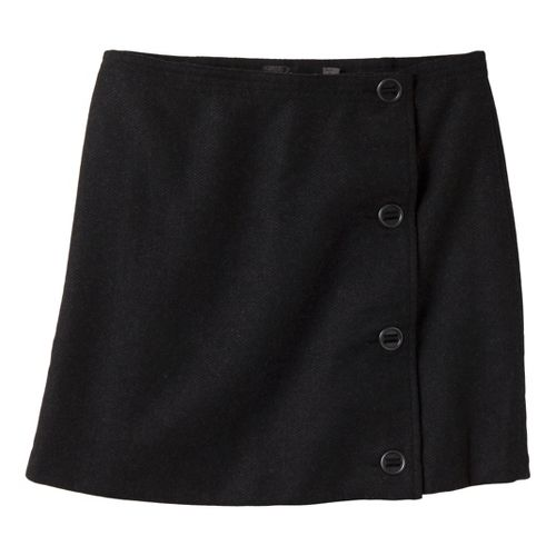 Womens Prana Nicky Skirt Fitness Skirts - Black 2