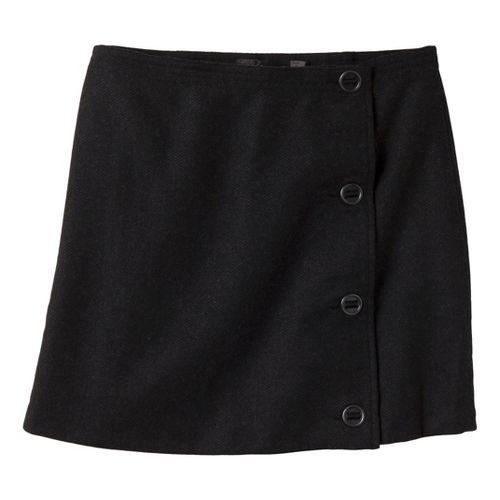 Womens Prana Nicky Skirt Fitness Skirts - Black 4
