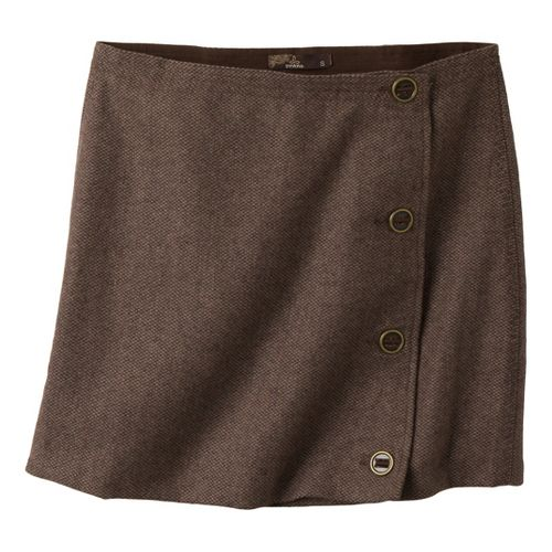 Womens Prana Nicky Skirt Fitness Skirts - Espresso 8