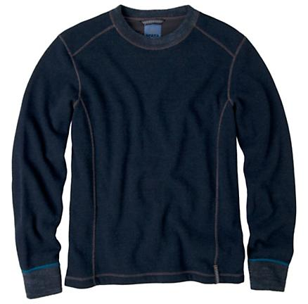 Mens Prana Owen Sweater Crew Long Sleeve Non-Technical Tops
