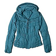 Womens Prana Powder Parka Warm-Up Hooded Jackets