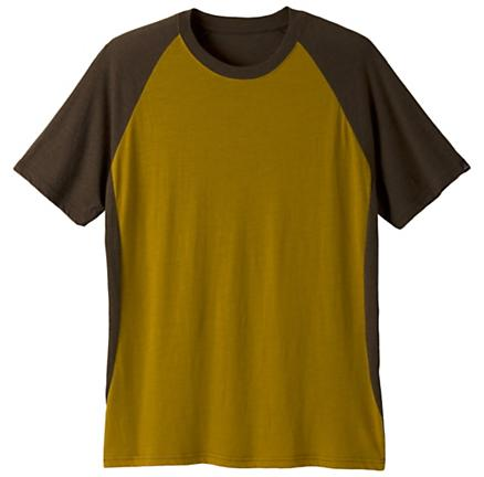 Mens Prana Quest Crew Short Sleeve Technical Tops