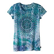 Womens Prana Rapture Tee Short Sleeve Technical Tops